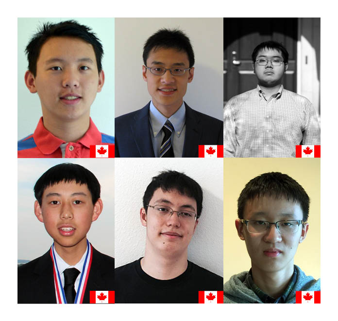 Top six Canadian mathematics students selected for Math Team