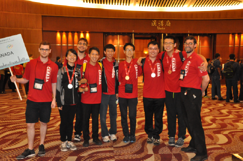 Math Team Canada 2016 places 12th at the International Mathematical