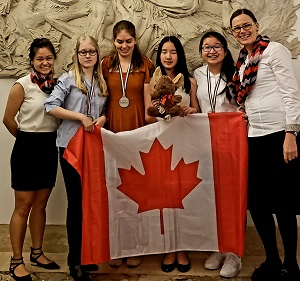 STRONG SHOWING FROM CANADA'S FIRST-EVER EUROPEAN GIRLS' MATHEMATICAL