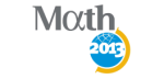 logo:Mathematics and Planet Earth 2013